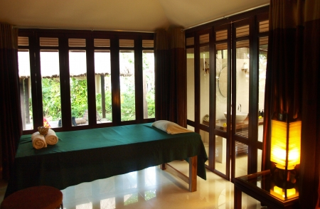 Aroma spa simple interior design