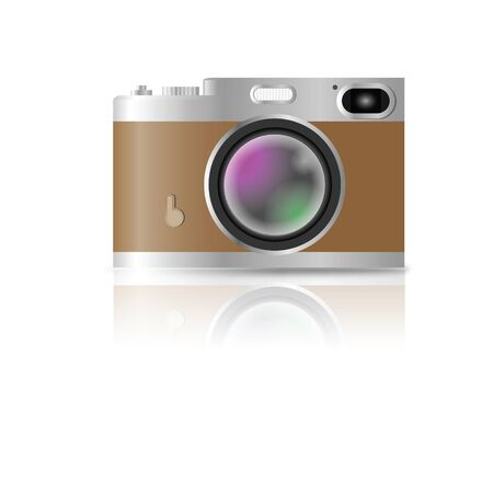 Range finder a retro style camera