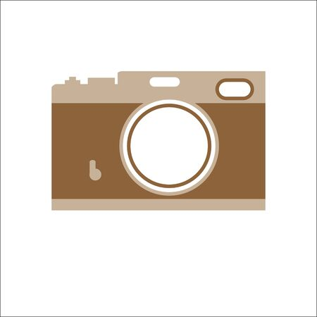 Range finder a retro style camera Stock Vector - 19196483