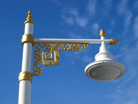 Street lamp in Thai style design photo