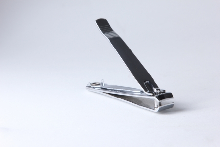 Stainless metal nail cutting scissor photo