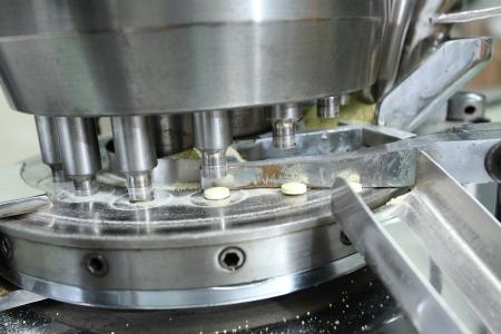 manufactura: Farmac�utica de funcionamiento de la m�quina para producir la medicina
