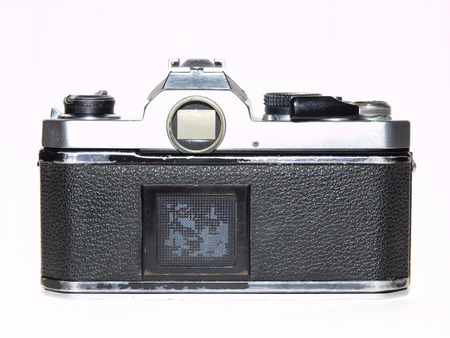 old famous film camera photo