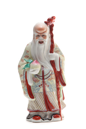 Fu Lu Shou three Chinese lucky Gods photo