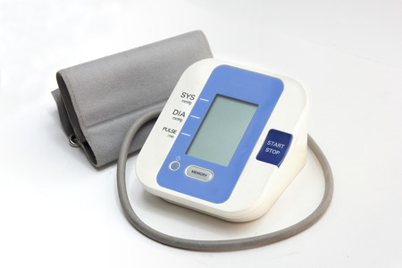 Blood pressure monitoring device for check up photo