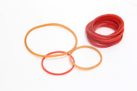 rubbery: Colorful rubber rings for stationery