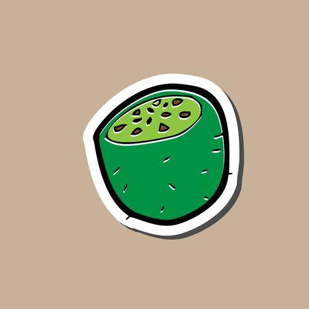 Kiwi Cartoon Drawing Kiwi Sticker Cartoon Drawing