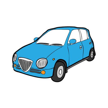 Bande dessin�e de voiture dessin vectoriel Eco Illustration