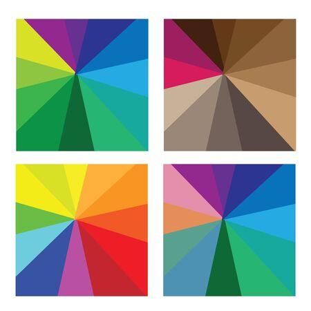 tone: Pattern color shade tone vector