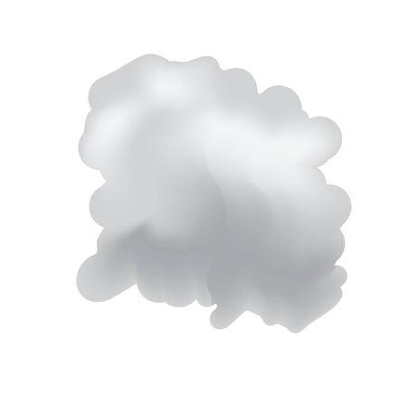 white colour: Brush background inked painting Illustration