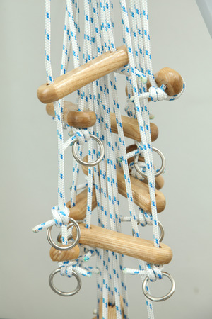 nursing department: Rope and pulley physiotherapy training unit for rehabilitation