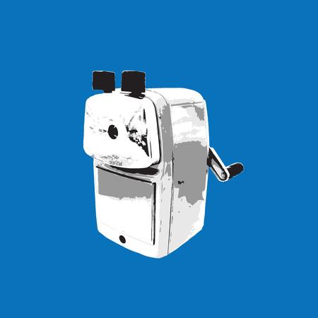 sharpener: Object pencil sharpener graphic tracing