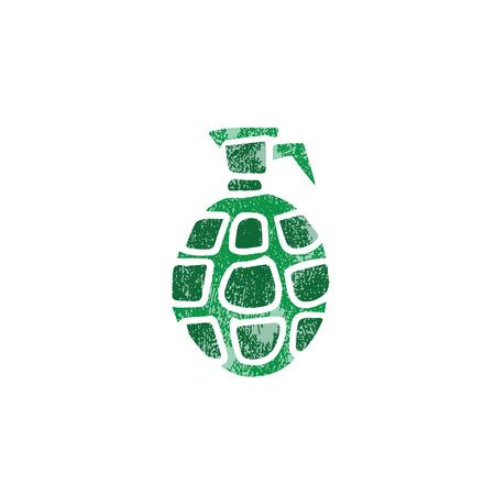 grenade: Weapon war object grenade explosive stamp