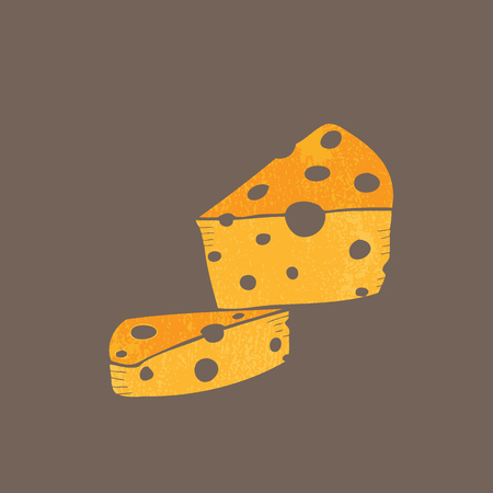 swiss cheese: Swiss cheese cartoon drawing doodle