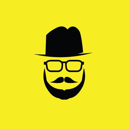 Les gens Hipster homme grec