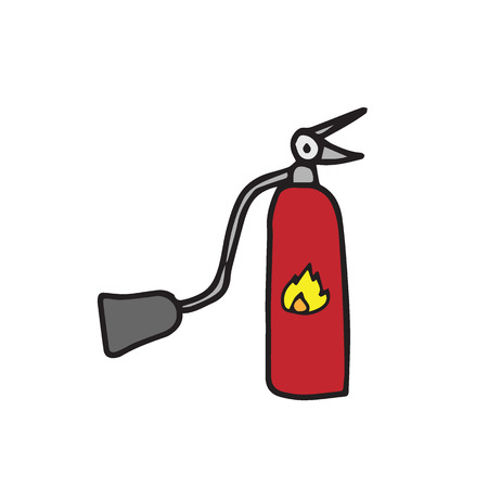 suppression: Object fire extinguisher safety equipment