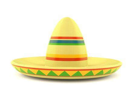 Cinco De Mayo Sombrero Cufflinks Angled Edition