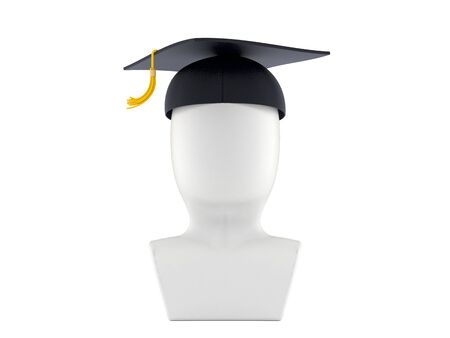 Student icon isolated on white background