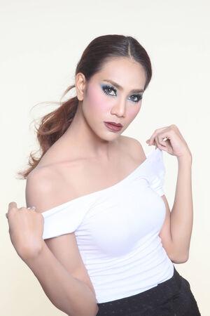 sexy asian woman: Beautiful sexy asian woman