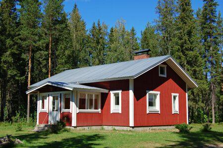 Farmhouse in rural Finland Stock Photo - 528383
