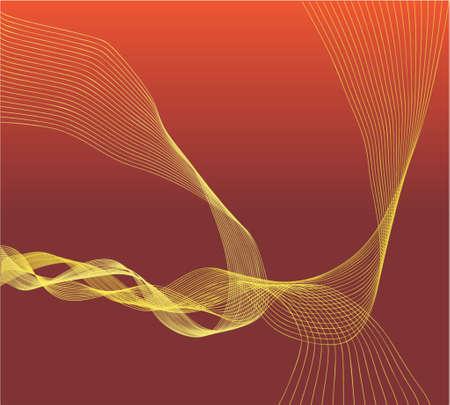 drift: Vector design of wave forms Illustration