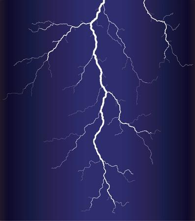 Vector Illustration eines Blitzes