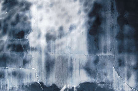 Abstract background grunge of a cobalt blue wall photo