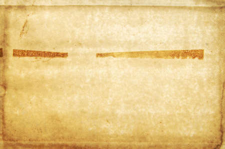 deteriorate: Faded brown blank page from an old book Stock Photo
