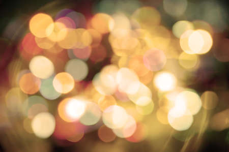 Abstract background of colorful blurred street lights