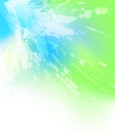 watery: Abstract background illustration of a watery splash with copy-space