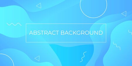 Abstract Modern Sky Blue Background Vector EPS 10 Vetores