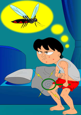The problem of mosquitoes  photo
