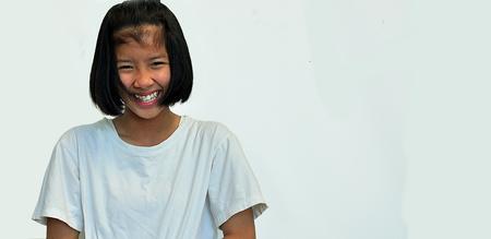Teenage girls happy. Stock Photo