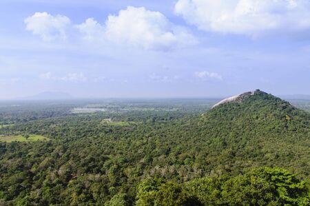 sigiriya: Sights at the top of Sigiriya Stock Photo