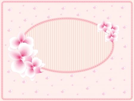 Wedding card or invitation, Valentine, birthday theme Stock Vector - 15256525