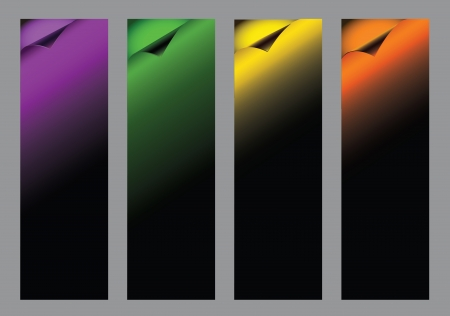 Dark backgrounds,  Halloween, dark theme, for vertical banners Vector