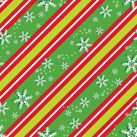 Seamless background pattern in Christmas colors, eps 10  Vector