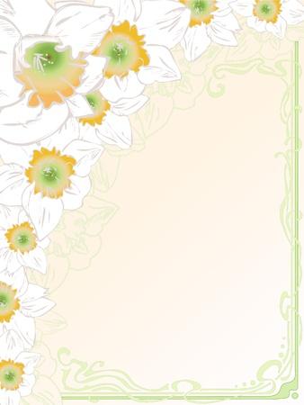 eps 10: Hand drawn wedding greeting card, vintage, art deco style, vector eps 10