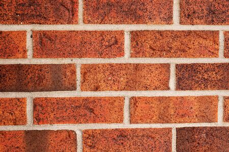 dynamically: A lovely brick wall lit dynamically Stock Photo