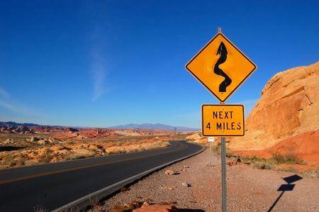 Winding Roads Stok Fotoğraf