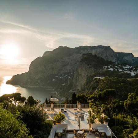 Capri Skyline by Day