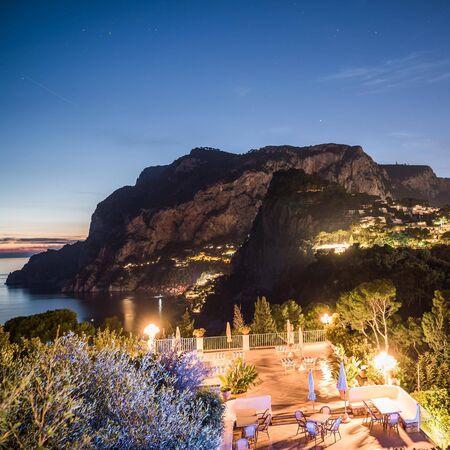 Capri Skyline Stock Photo