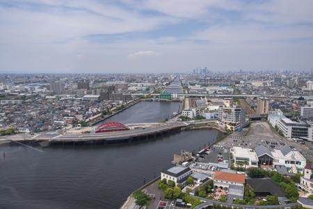 Nagoya, Japan – May 12, 2019: City view of Nagoya, Japan