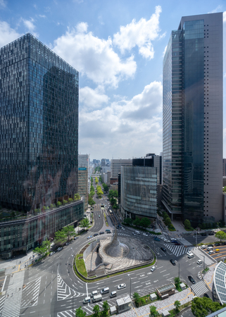 Nagoya, Japan – May 13, 2019: Nagoya station is a public building in Nagoya, Japan.