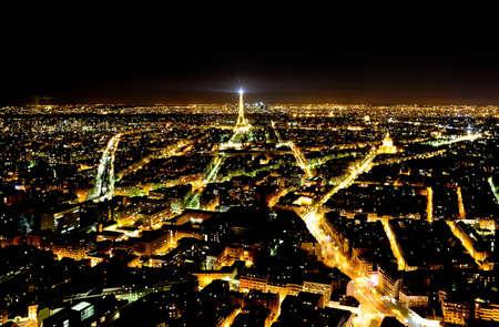 Panoramic view of Paris from the Monparnas tower Stock Photo - 13266868