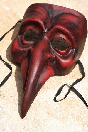 naso: Venetian mask  Stock Photo