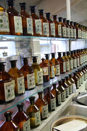 Laboratory in a French perfumery