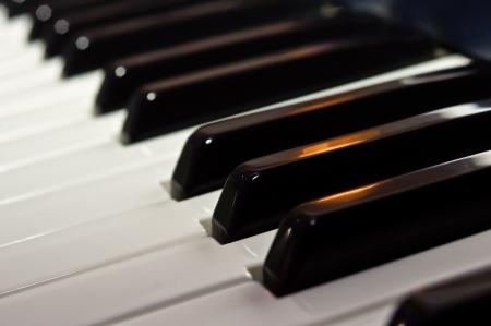 Keys synthesizer photo