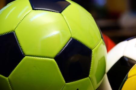 kickoff: Colored footballs