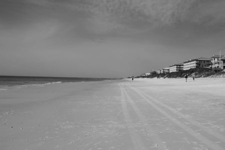 panama city beach: A view of the Gulf of Mexico from Panama City Beach, FL